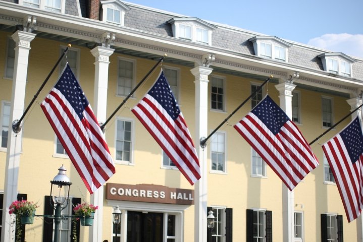 Congress Hall in Cape May, NJ