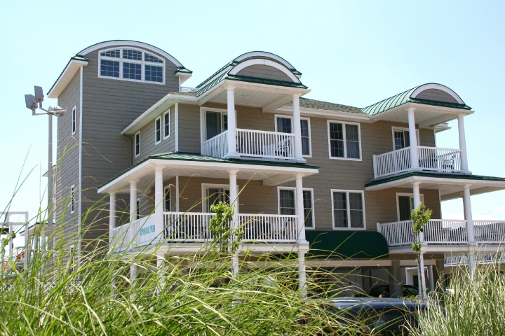 Located just steps from Boardwalk and beach.