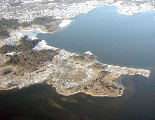 Aerial View of Cattus Island Park, Toms River