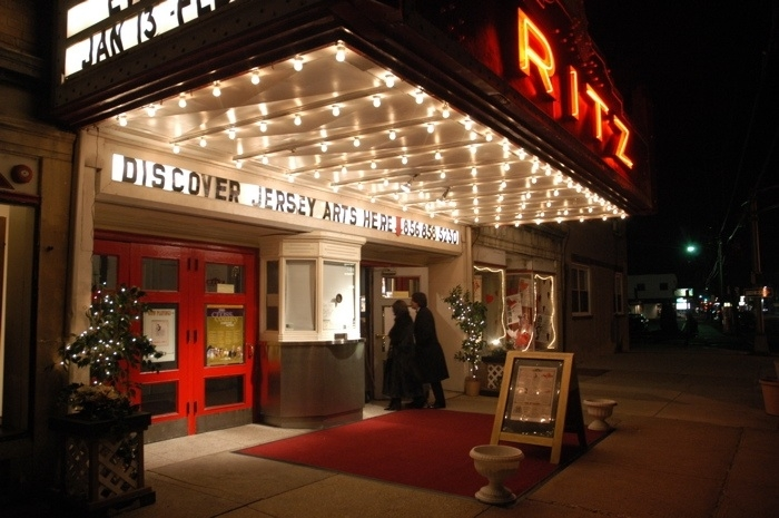 The historic Ritz Theatre in Haddon Township, NJ.