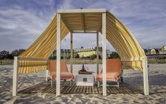 Beach Tent at Congress Hall; Photo by Charles Riter
