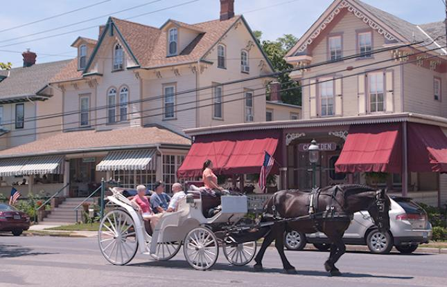 cape may carriage ride