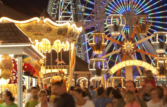 Carnival Rides at The Wildwoods