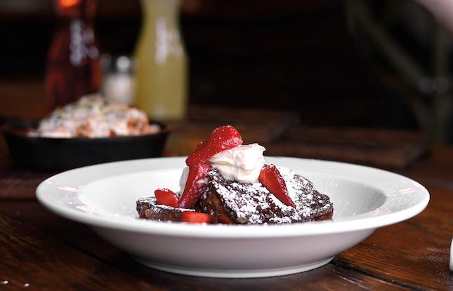 Chocolate French Toast from Porta