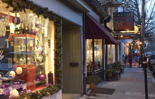 Holiday Shopping in New Jersey
