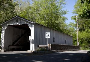 Covered Bridge in Stockton