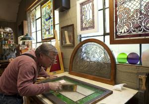 Stained Glass Artist in Stockton