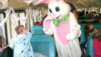 Easter Bunny Train Ride and Easter Egg Hunt