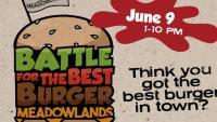 Meadowlands Racetrack Burger Battle