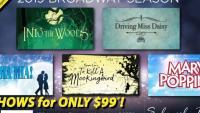 2019 Broadway Season – 5 Show Package