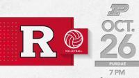 Rutgers Volleyball vs. Purdue