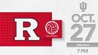 Rutgers Volleyball vs. Indiana