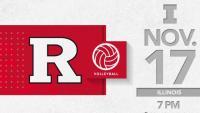 Rutgers Volleyball vs. Illinois