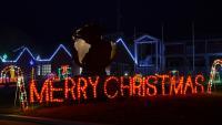 Christmas Light Show & Christmas Village