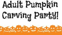 Adult Pumpkin Carving Party