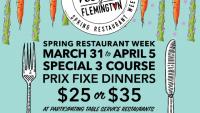 Flemington Spring Restaurant Week