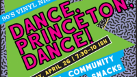 The Arts Council of Princeton and the Princeton Record Exchange Host 90's Dance Party