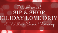 7th Annual Sip & Shop Holiday Love Drive