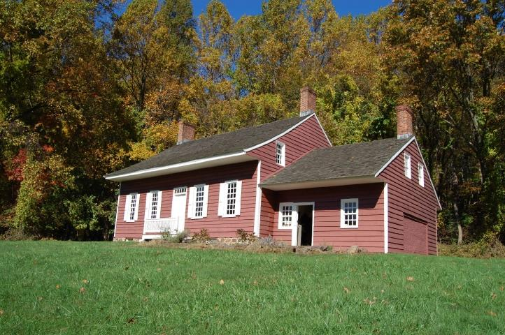 Monmouth County Historical Association's Holmes-Hendrickson home in Holmdel, New Jersey