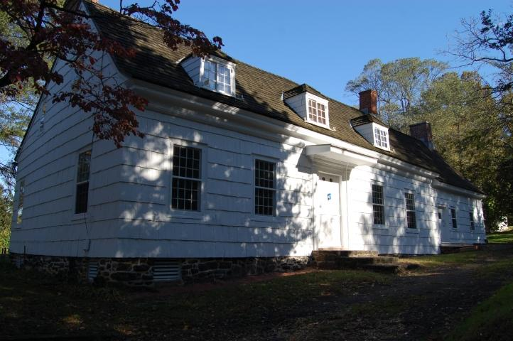 Monmouth County Historical Association's Marlpit Hall in Middletown, New Jersey