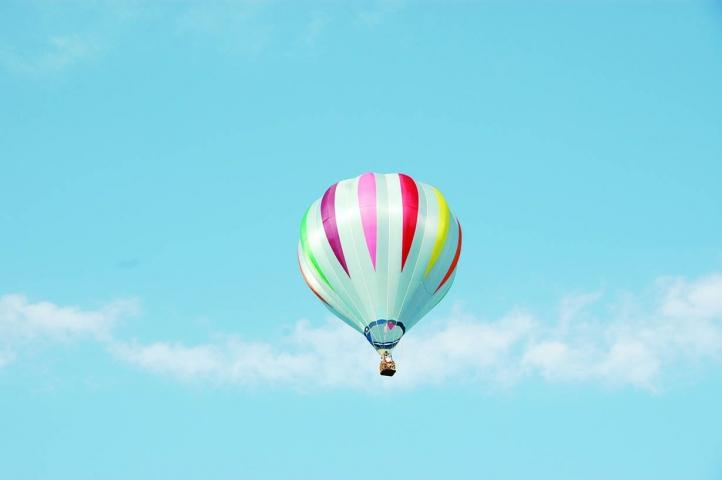 Hot Air Ballooning Over Beautiful Warren County