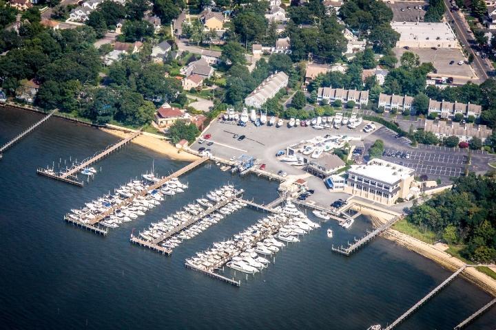 Clarks Landing Marina - Aerial Photo
