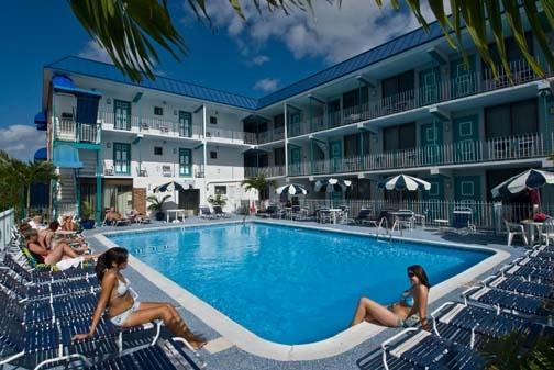 Oceanfront Building Pool