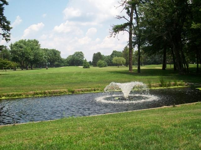 View of the first hole.