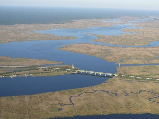 A view of the lower Mullica River Watershed