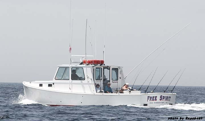 The charter boat Free Spirit.