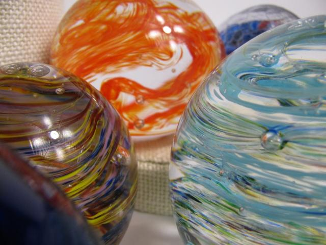 Glass art is made, taught and sold at GlassRoots, Inc. in Newark