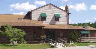 Cedar Creek Campground store, cafe` and Recreation Hall