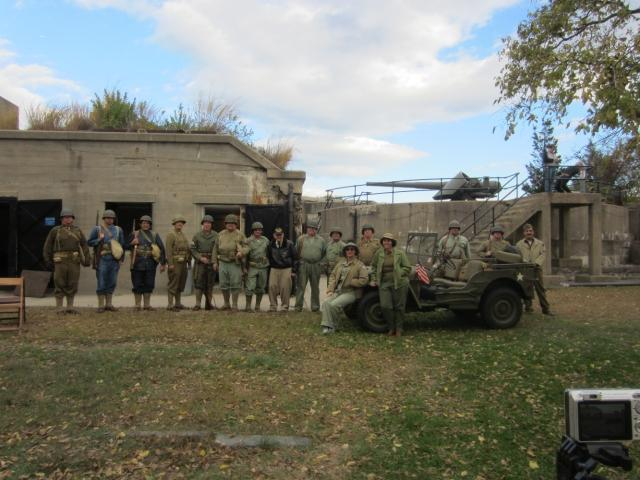 Army Ground Forces Association at Battery Gunnison