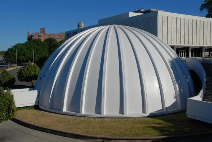 Planetarium at New Jersey State Museum