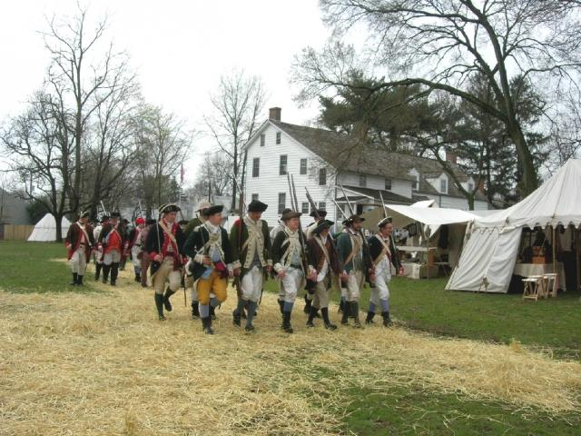 American Forces at the Abraham Staats House