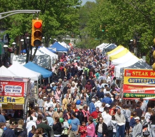 hackettstown street fair and craft show