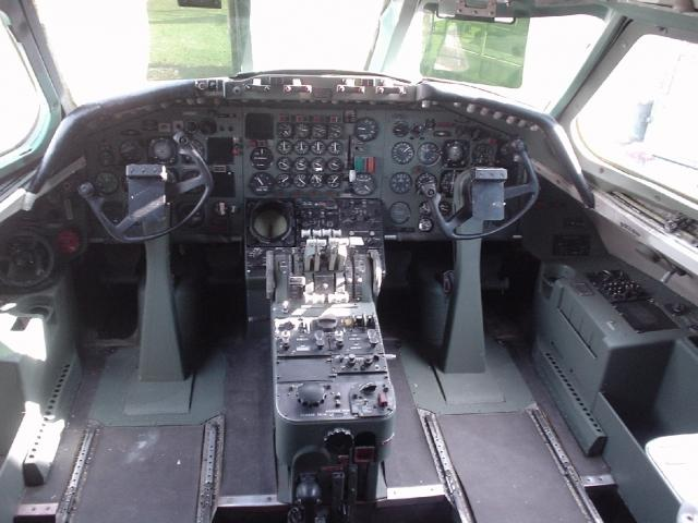 Convair 880 Cockpit - Visit this historic aircraft on Open Cockpit Weekends
