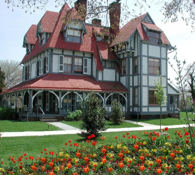 1879 Emlen Physick Estate, Cape May's only Victorian house museum
