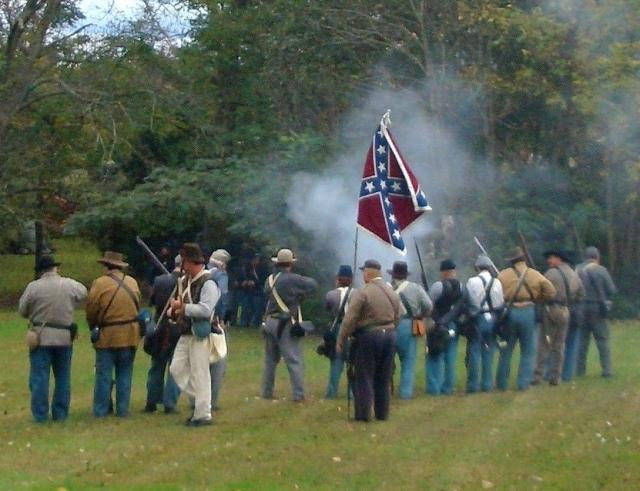 Fall Festival-Civil War Re enactment