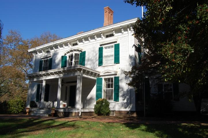 Monmouth County Historical Association's Taylor-Butler House in Middletown, New Jersey