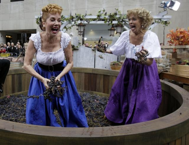 Annual Grape Stomping Event