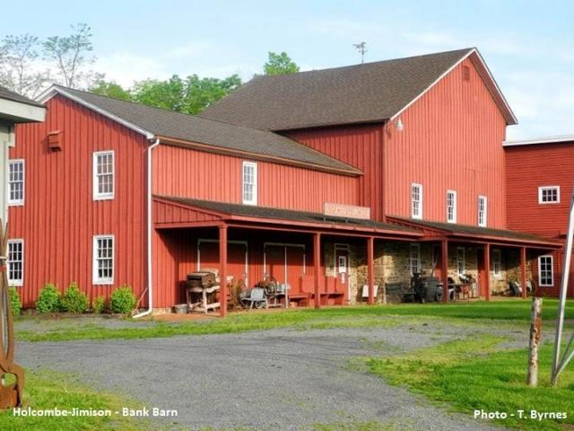 The Main Museum Barn at the Holcombe Jimison Farmstead