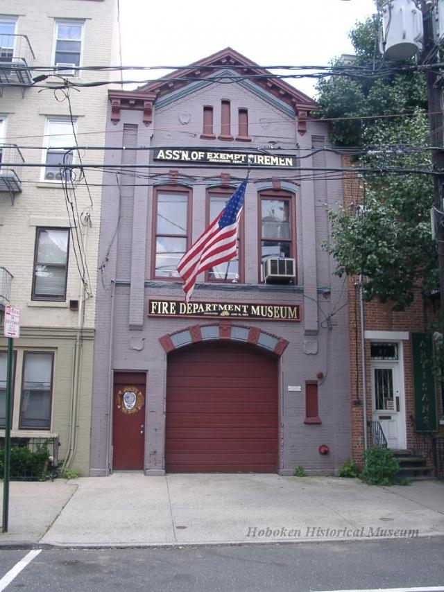 Hoboken Fire Department Museum, 213 Bloomfield, is open weekends 12 - 5 pm.