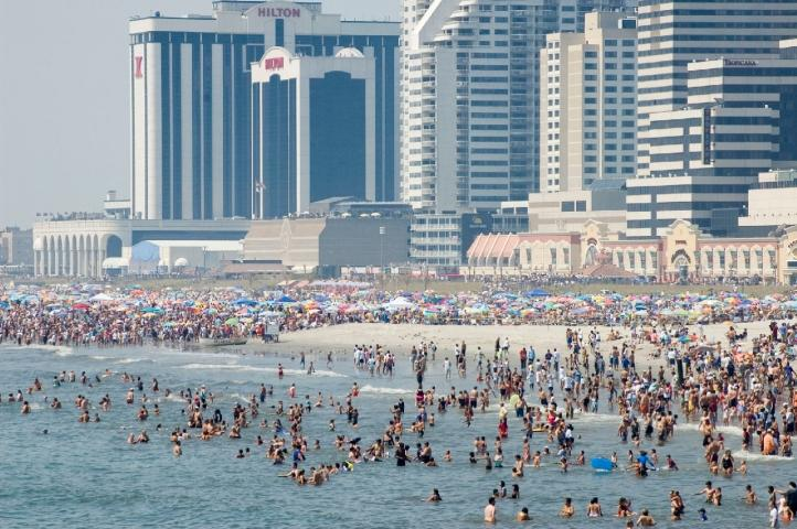 Atlantic City Has Miles Of Free White Sandy Beaches