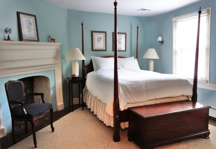 Cozy guest rooms are individually appointed and unique.