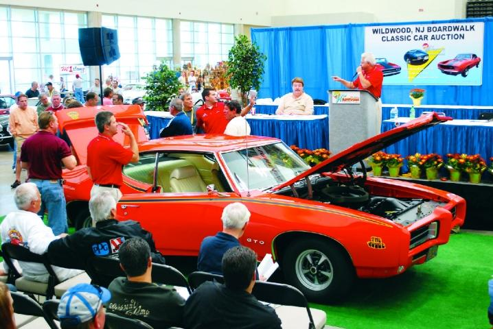 Boardwalk Classic Car Show Auction VisitNJorg - Wildwood car show
