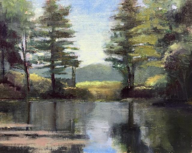 Oil Painting by Plein Air Painter, Guild Exhibiting Artist Anthony Migliaccio