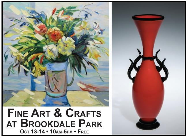 Fine Art and Crafts at Brookdale Park Show