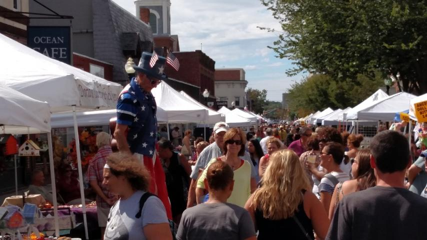 Visit Downtown Red Bank for a wide array of Original Crafts and Great Food!