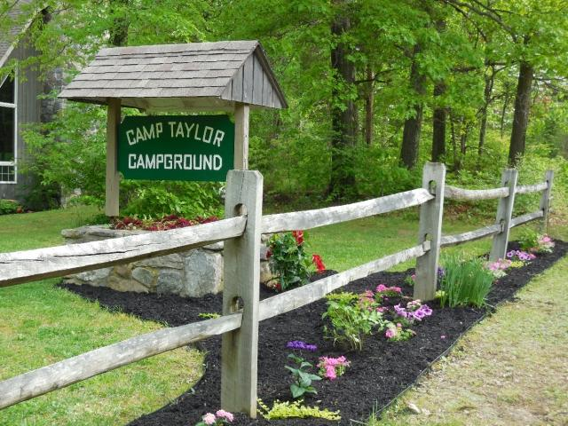 Camp Taylor Campgroundfront entrance